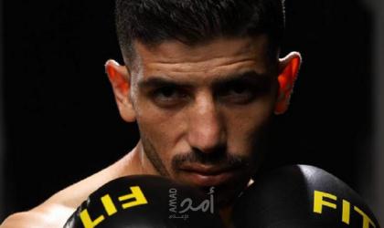 أحمد حرارة اول فلسطيني يحترف الملاكمة عالمياً
