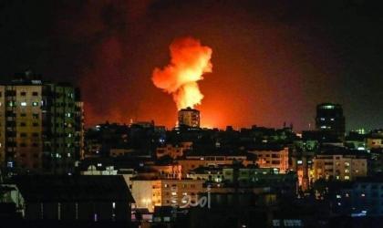 طائرات الاحتلال تدمر منزلا في جباليا شمال قطاع غزة