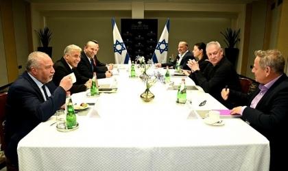 """تل أبيب: رؤساء أحزاب """"حكومة التغيير"""" اجتمعوا """"الأحد""""- فيديو وصور"""