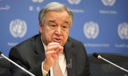 غوتيريش يوصي إسرائيل بإلغاء إغلاق معابر غزة واحترام القانون الدولي