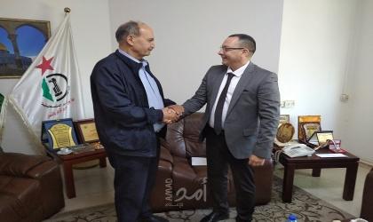 واصل أبو يوسف يستقبل سفير نيكاراغوا لدى دولة فلسطين