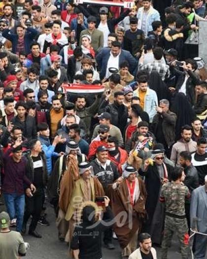 المنظمة العربية تستنكر جرائم قتل المتظاهرين وتندد بقرار مجلس الأمن العراقي الذي يشكل إذناً بتصعيد العنف