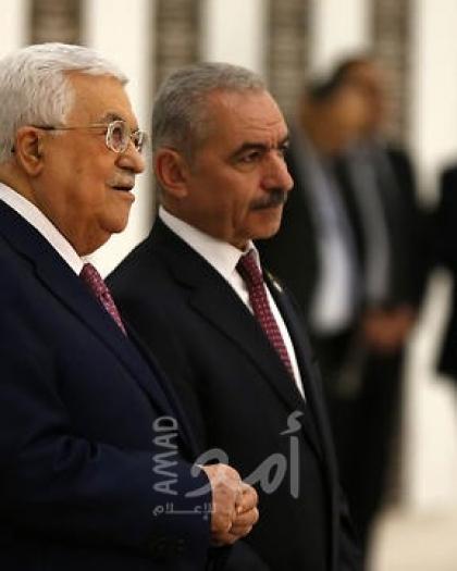 """يديعوت: مسئولون فلسطينيون ينتقدون قرارات """"عباس واشتية"""" المرتبكة في مواجهة الضم!"""